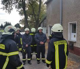 Mit Praktischen Übungen wurden die Kameraden von Kamerad Rainer Janitza auf ihre Ausbildung und Prüfung an der LSTE vorbereitet