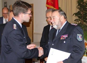 Glückwünsche von KFV-Vorsitzendem Robert Buder