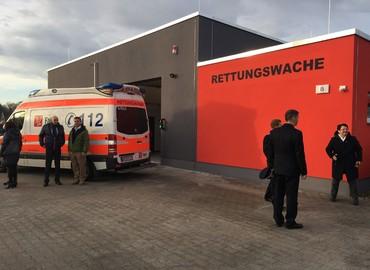 Modern und funktional: Die neue Rettungswache