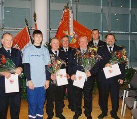 Kameraden der Feuerwehr Forst (Lausitz)
