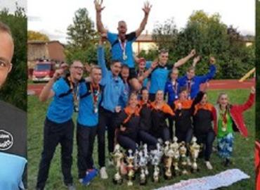 Die FeuerwehrsportlerInnen des Jahres: Tommy Paulick, das Team Lausitz und Anja Aldermann