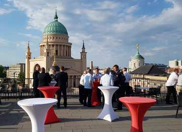 Diskussionen über den Dächern Potsdams