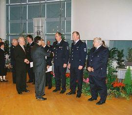 Kameraden aus dem Amt Döbern-Land werden für 40. jährige Pflichterfüllung geehrt