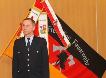 Vorsitzender des Fördervereines der Freiwilligen Feuerwehr Mulknitz e.V. Kam. Lothar Britze