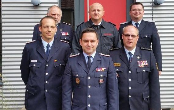 Von links nach rechts: Hinten: Jürgen Steffen, Stefan Grothe, Lars Wirklich Vorne: Randy Fechner, Frank Mehlow, Jan von Bergen