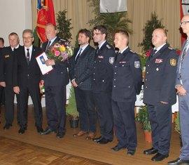 Wilfried Hoffmann im Kreis der Gratulanten