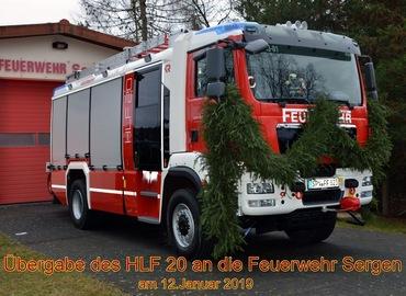 Das HLF20 in voller Pracht