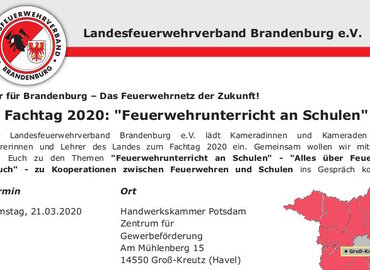 Screenshot Einladung Fachtag