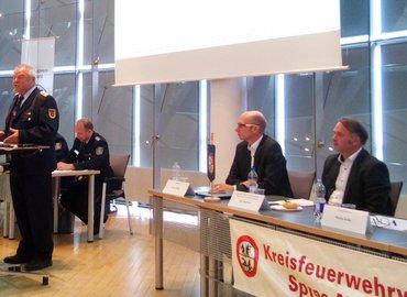 Grußworte von LFV-Präsident Werner-Siegwart Schippel: Der KFV SPN ist einer der aktivsten im Land