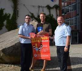 Gemeinsame Aktion zu Rettungsgassen startet im Landkreis Spree-Neiße