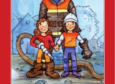 Titelbild des Malbuches zur Brandschutzerziehung