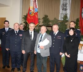 Eberhard Seifert (Spremberg) wurde für 75 Jahre treue Dienste ausgezeichnet
