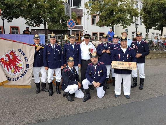 """""""Hilfe, die Preußen kommen"""" - Die Spremberger Handdruckspritzenbesatzung"""