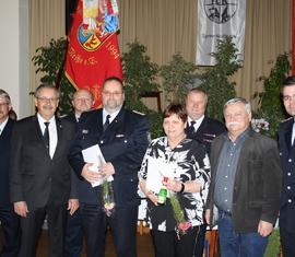 Jörg Fischer und Irena Richter wurden für 40 Jahre treue Dienste ausgezeichnet