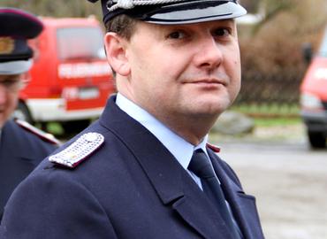 Ortswehrführer von Groß Bademeusel Frank Noack