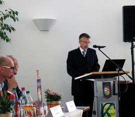 Aus dem KFV SPN e.V. kamen immer gute Köpfe und kluge Ideen, so Frank Stolper, Abteilungsleiter im Innenministerium