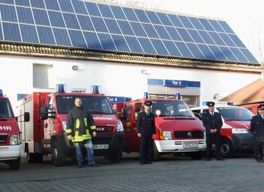 Völlig neu bereift: Die Einsatzfahrzeuge der Feuerwehr Peitz