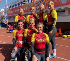 Das Damenteam