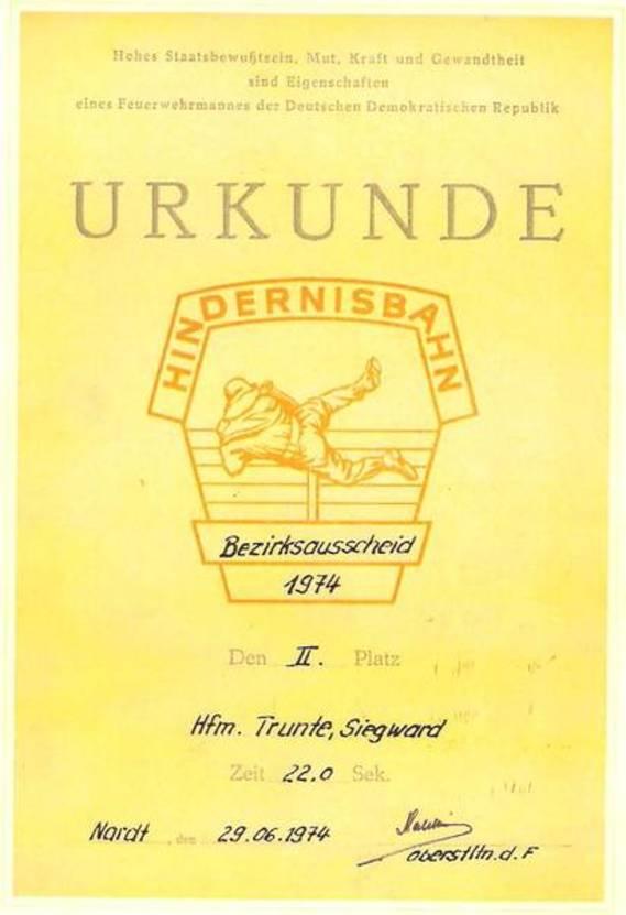 Dokumentation von der AG Historik 1945 - 1990