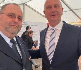 Selfie mit dem Ministerpräsidenten