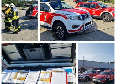 Taktisches Vorgehen ist alles: Dafür sorgen gute Feuerwehrpläne und die Alarmierung von Amtswehrführer und Kreisbrandmeister